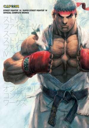 Street Fighter IV & Super Street Fighter IV: Official Complete Works de Capcom