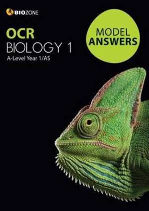OCR Biology 1 Model Answers