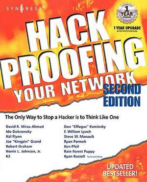 Hack Proofing Your Network de Syngress
