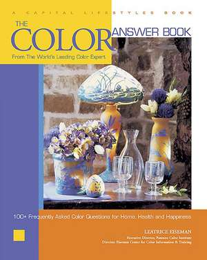 The Color Answer Book:  From the World's Leading Color Expert de Leatrice Eiseman