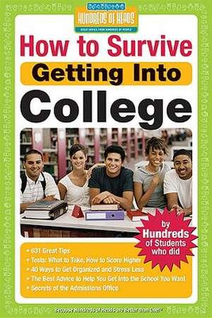 How to Survive Getting Into College de Rachel, EdM Korn