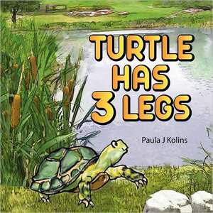 Turtle Has 3 Legs de Paula J Kolins