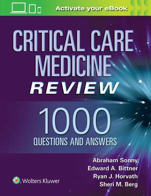Critical Care Medicine Review: 1000 Questions and Answers imagine
