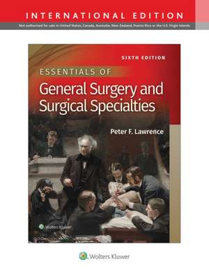 Essentials of General Surgery and Surgical Specialties imagine