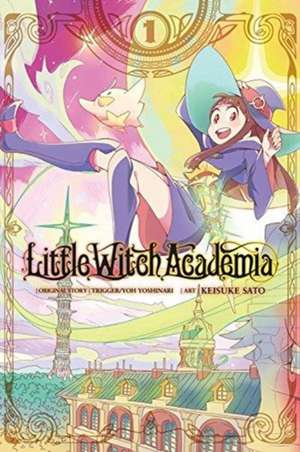 Little Witch Academia, Vol. 1 (manga) imagine