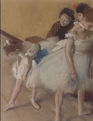 Degas Sketchbook. Dance Examination imagine