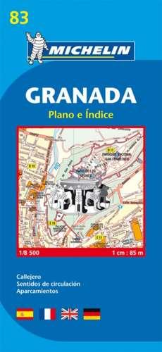 Map 9083 Granada