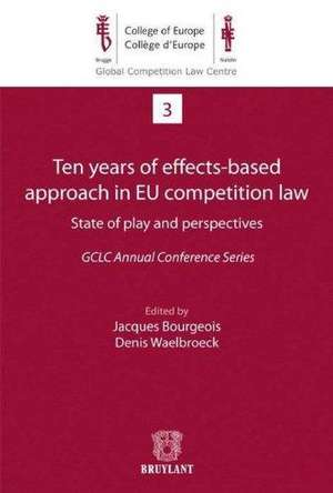 Ten years of effects–based approach in EU competition law