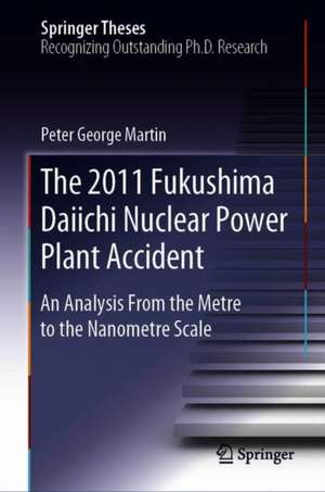 The 2011 Fukushima Daiichi Nuclear Power Plant Accident: An Analysis from the Metre to the Nanometre Scale de Peter George Martin
