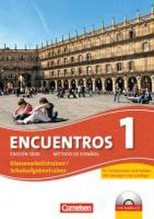 Encuentros 01. Schulaufgaben- und Klassenarbeitstrainer und CD