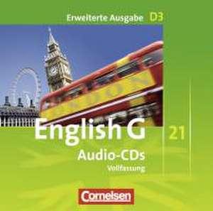 English G 21. Erweiterte Ausgabe D 3. Audio-CDs de Hellmut Schwarz