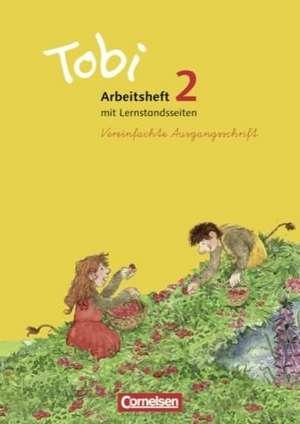 Tobi Lese-Sprach-Buch 2. Schuljahr. Vereinfachter Ausgangsschrift