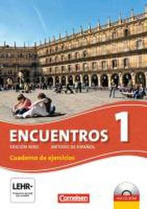 Encuentros 01 Cuaderno de Ejercicios inkl. CD-Extra