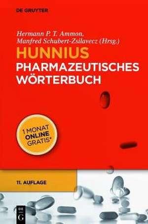 Hunnius Pharmazeutisches Woerterbuch