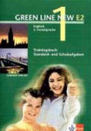 Green Line New E2 1. Trainingsbuch Standard -und Schulaufgaben, Heft mit Audio-CD