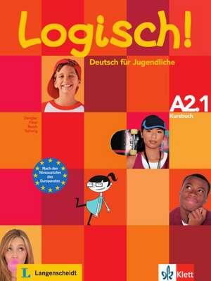 Logisch! Kursbuch A2.1 de Stefanie Dengler