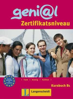 geni@l B1 - Kursbuch B1 de Hermann Funk