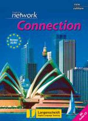 English Network Connection New Edition - Student's Book mit Audio-CD de Lynda Hübner