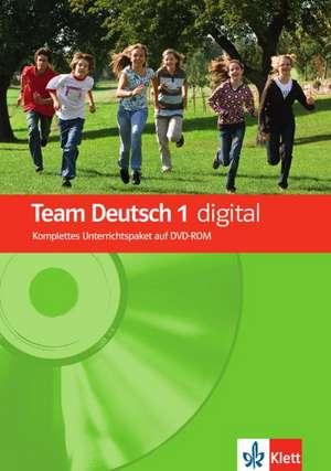 Team Deutsch 1. Deutsch fuer Jugendliche. Team Deutsch digital DVD-ROM A1
