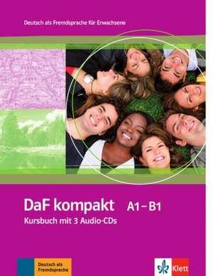 Daf Kompakt: Kursbuch MIT 3 Audio-Cds