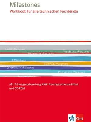 Milestones Workbook fuer alle technischen Fachbaende. Mit Audio-CD-ROM