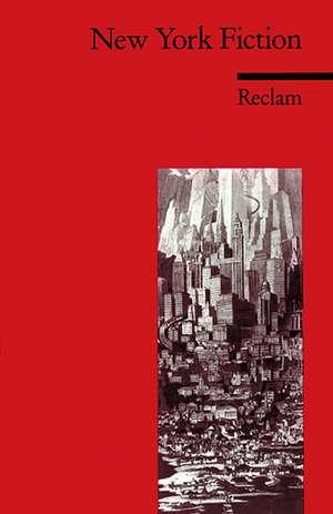 New York Fiction de Reingard M. Nischik