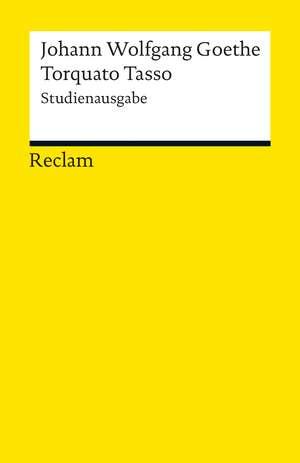Torquato Tasso de Johann Wolfgang Goethe