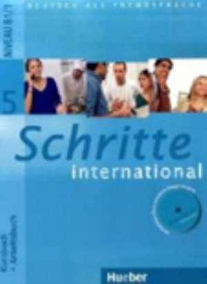 Schritte international 5. Kursbuch + Arbeitsbuch mit Audio-CD zum Arbeitsbuch und interaktiven UEbungen