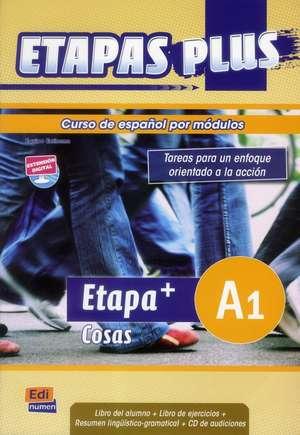 Etapa Plus, Acceso A1. Libro del alumno + Libro de ejercicios + CD de audiciones