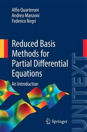 Reduced Basis Methods for Partial Differential Equations imagine