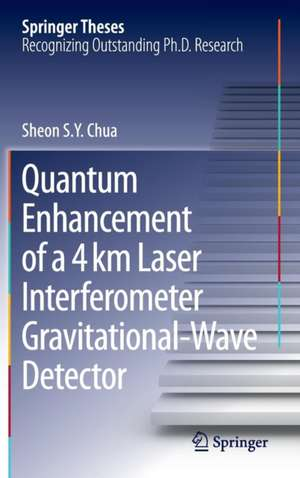 Quantum Enhancement of a 4 km Laser Interferometer Gravitational-Wave Detector de Sheon S. Y. Chua