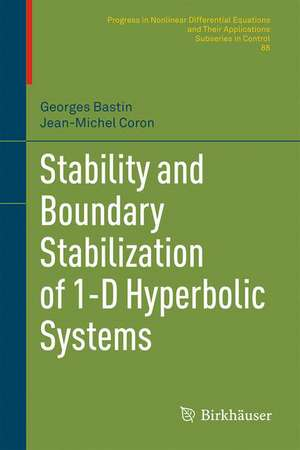 Stability and Boundary Stabilization of 1-D Hyperbolic Systems imagine
