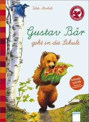 Gustav Baer geht in die Schule (Schreibschrift - lateinische Ausgangsschrift)