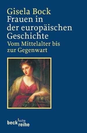Frauen in der europaeischen Geschichte