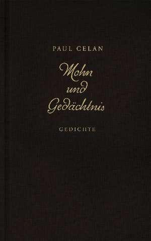 Mohn und Gedaechtnis