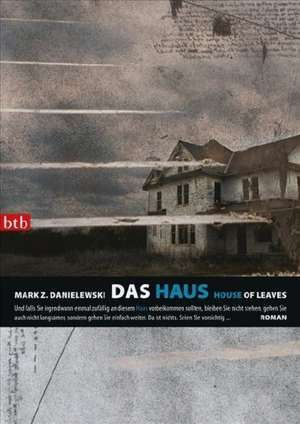 Das Haus /House of Leaves de Mark Z. Danielewski