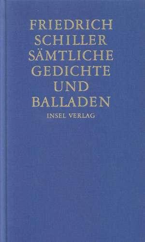 Saemtliche Gedichte und Balladen
