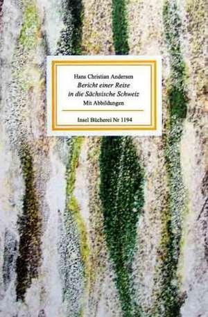 Bericht einer Reise in die Saechsische Schweiz
