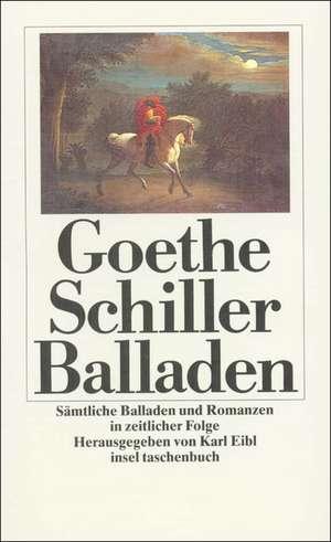 Sämtliche Balladen und Romanzen de Karl Eibl