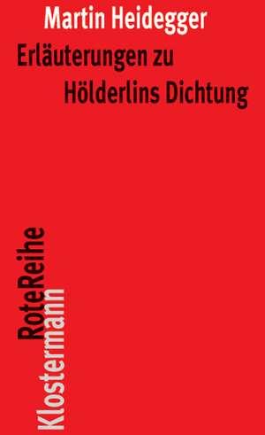 Erlauterungen Zu Holderlins Dichtung