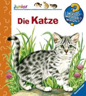 Die Katze: 'Wieso? Weshalb? Warum? junior'. Copii de la 2 ani de Patricia Mennen