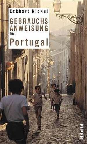 Gebrauchsanweisung für Portugal de Eckhart Nickel