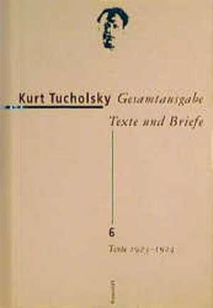 Texte 1923-1924