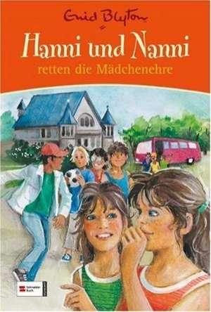 Hanni und Nanni retten die Maedchenehre. Sonderband 01