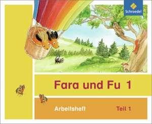 Fara und Fu 1 und 2. Arbeitshefte 1 und 2 (inkl. Schluesselwortkarte)- Ausgabe 2013