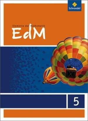 Elemente der Mathematik 5. Schuelerband. Nordrhein-Westfalen