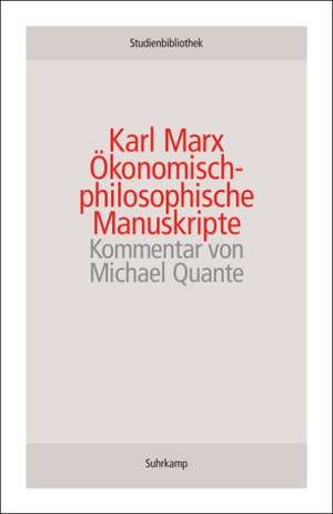 OEkonomisch-philosophische Manuskripte