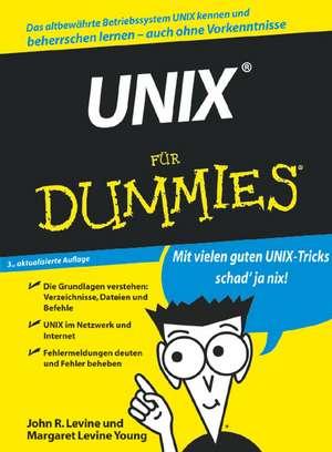 UNIX für Dummies de John R. Levine