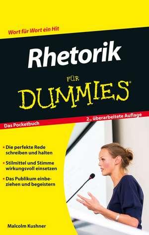 Rhetorik für Dummies