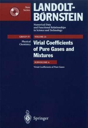 Virial Coefficients of Pure Gases de M. Frenkel